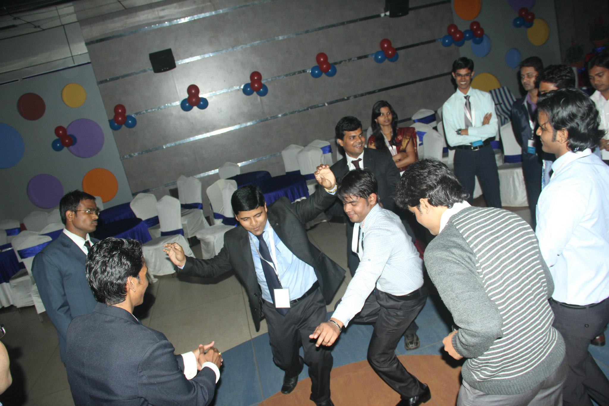 Electrifying Performance by the Employees.