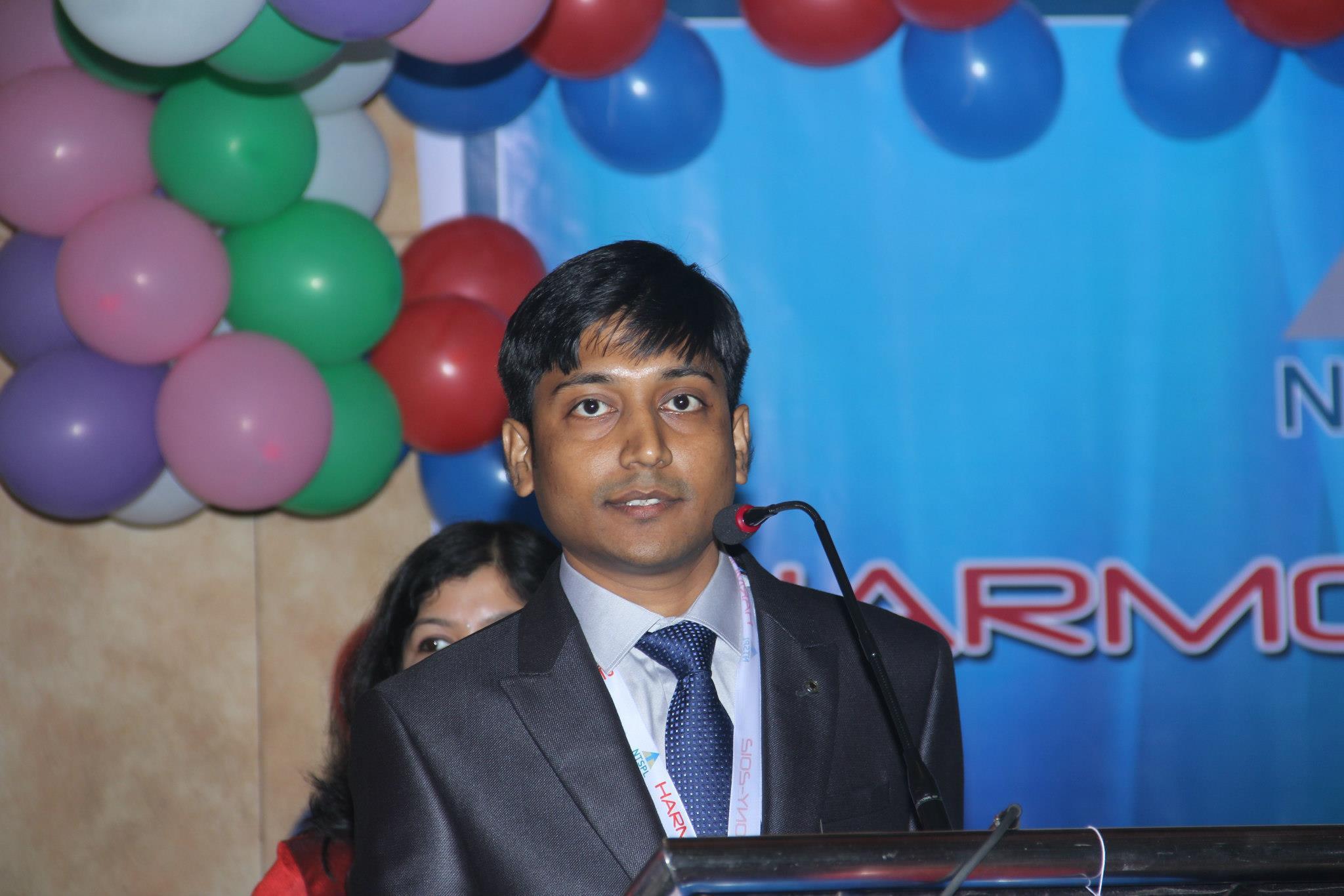 Tremendous Speech by Mr Sagar Mohanty (Managing Director)
