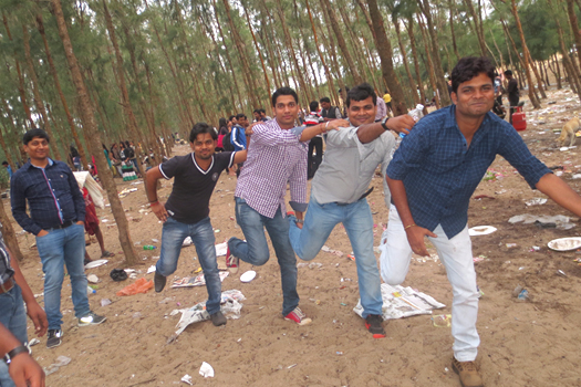 Boys in a pleasure moment at Jahania