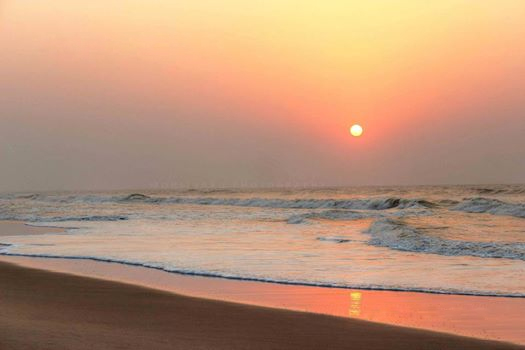 Sunset at Jahania Beach, Astarang