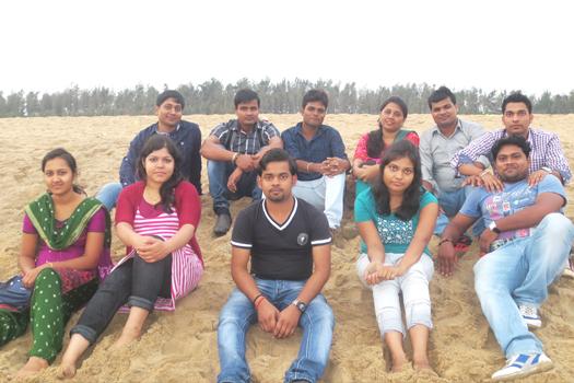 NTSPL Team at Jahania Beach, Astarang