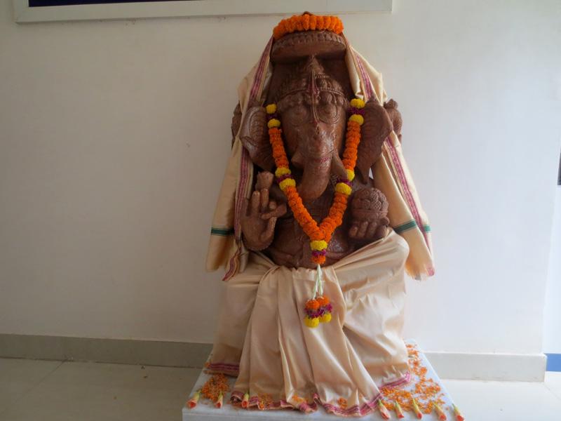 Ganesh Puja @ NTSPL